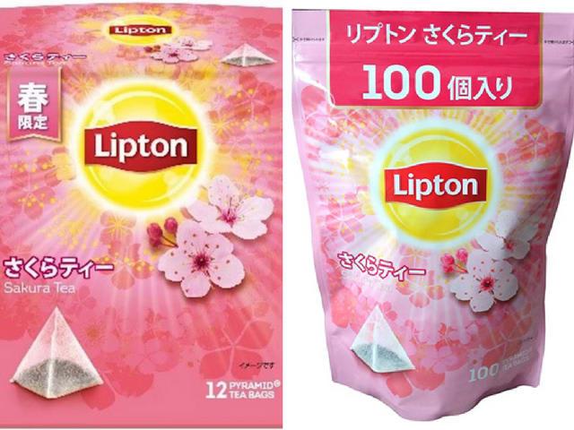 trà hoa anh đào túi lọc lipton là một trong những sản phẩm hoa anh đào ở nhật bản bạn nên thử
