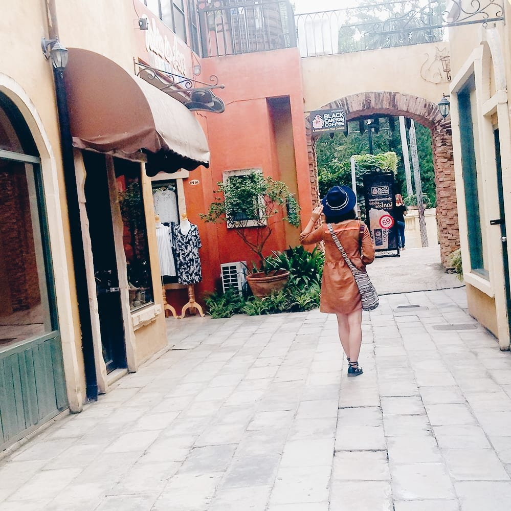 du lịch khao yai - mua sắm ở palio village
