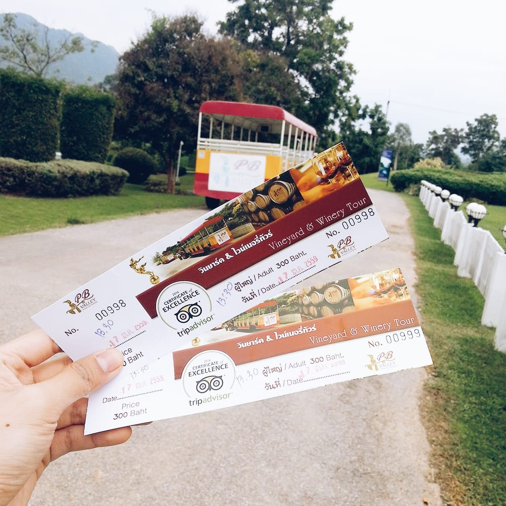 du lịch khao yai - wine tour