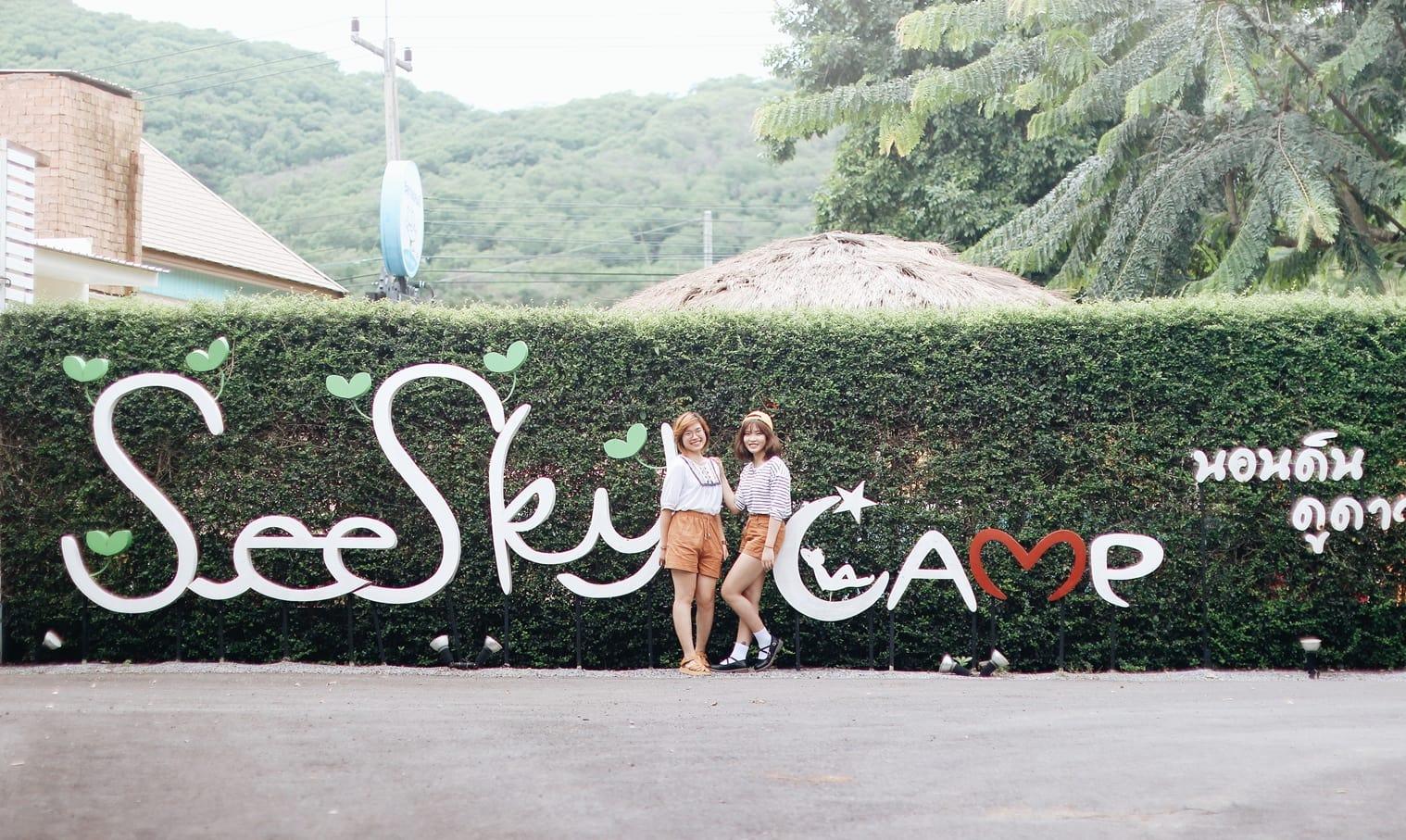 du lịch khao yai - nhà nghỉ seesky camp