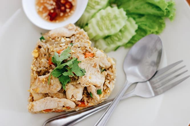 du lịch khao yai - món ăn thái