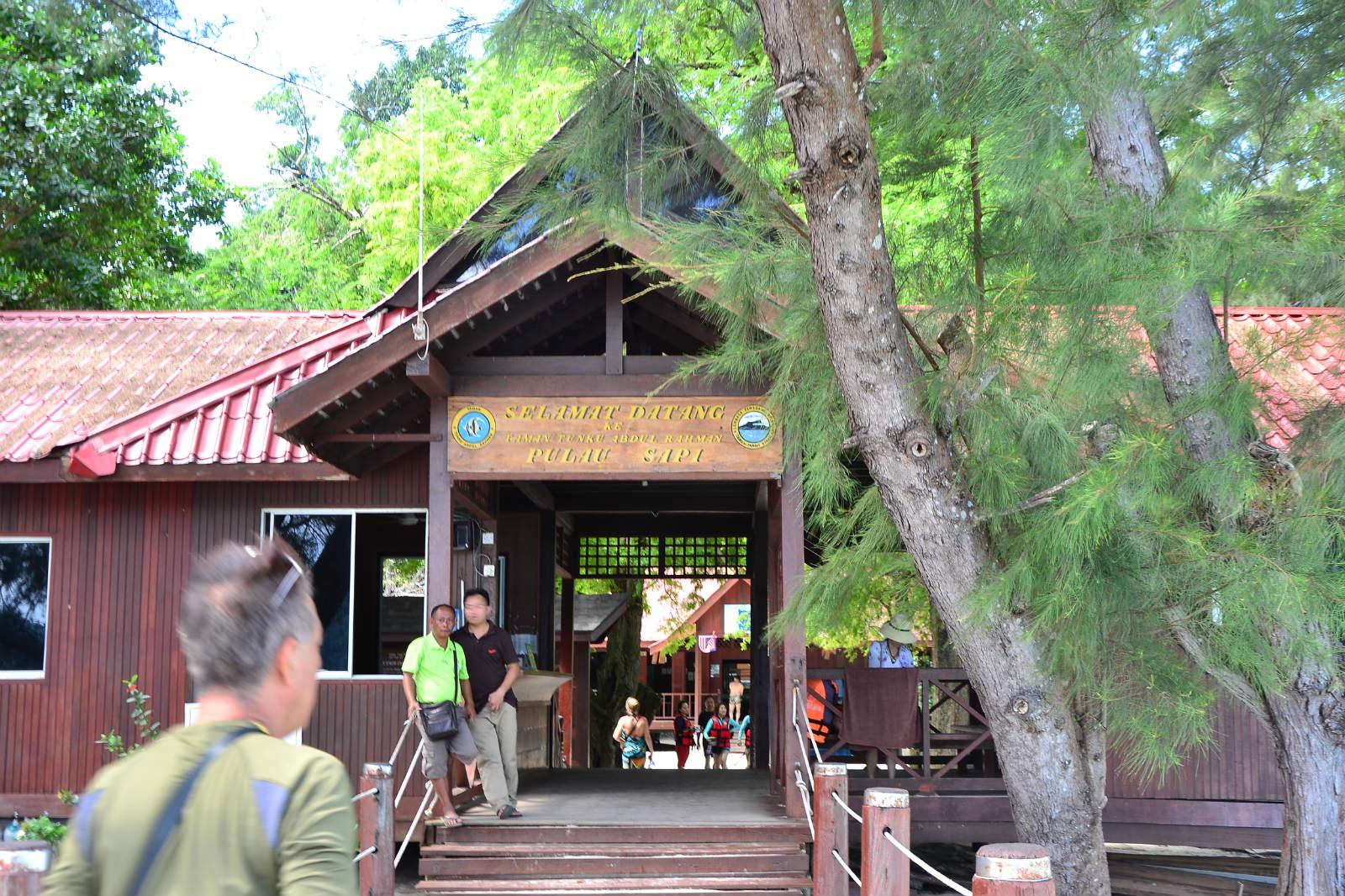 du lịch kota kinabalu - đảo sapi