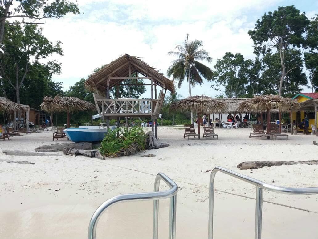 du lịch kota kinabalu - khu nghỉ ngơi ở mantanani