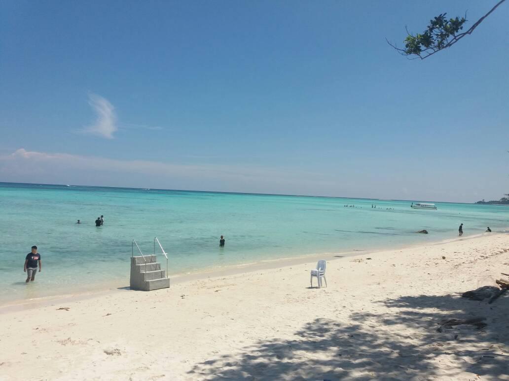 du lịch kota kinabalu - bãi cát đẹp ở mantanani