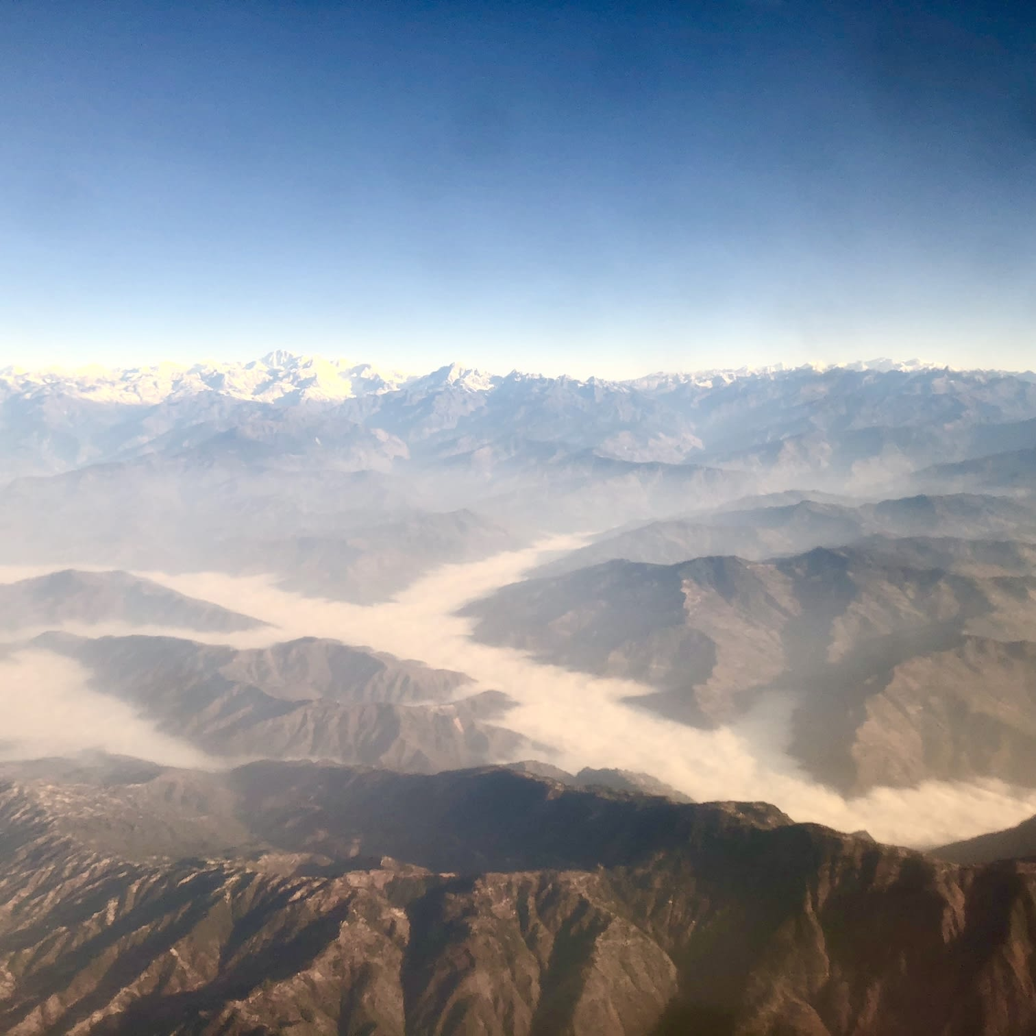 du lịch nepal: everest mountain flight