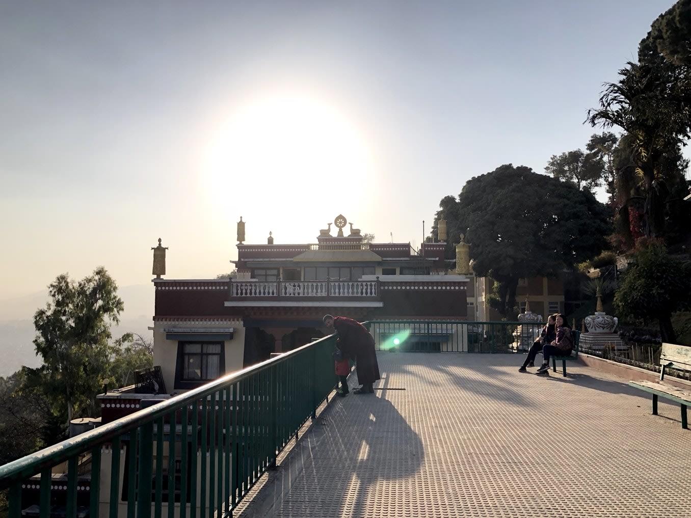 du lịch nepal: thiền viện kopan