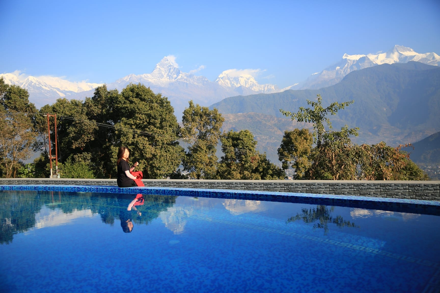 du lịch nepal: himalayan front hotel