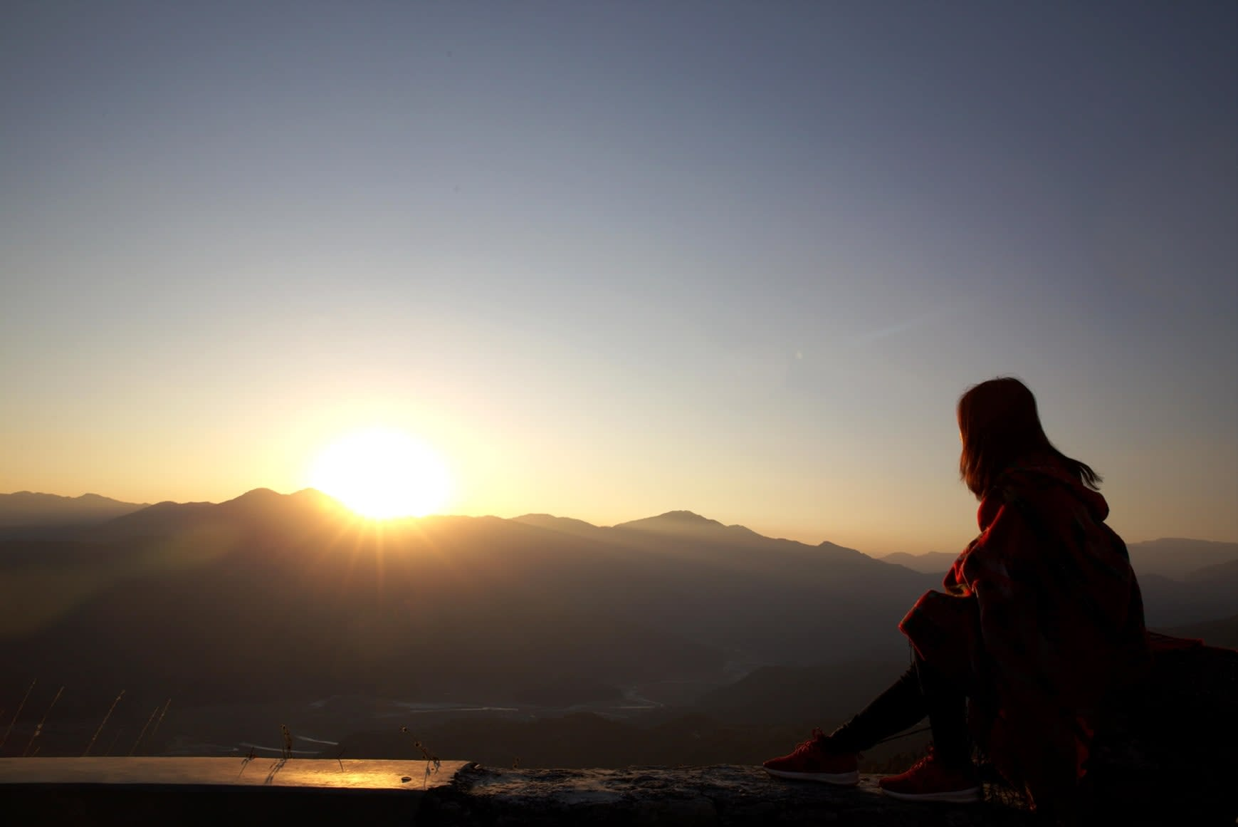 du lịch nepal: sarangkot view tower