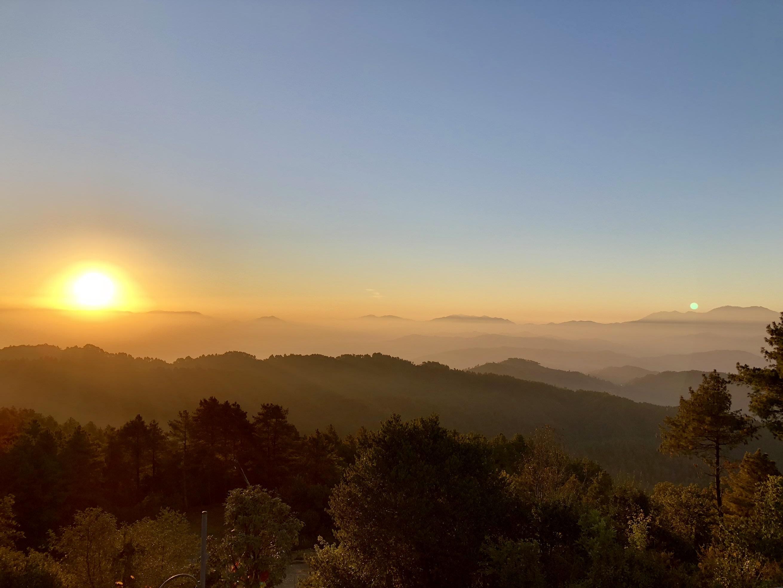 du lịch nepal: bình minh ở nagorkot