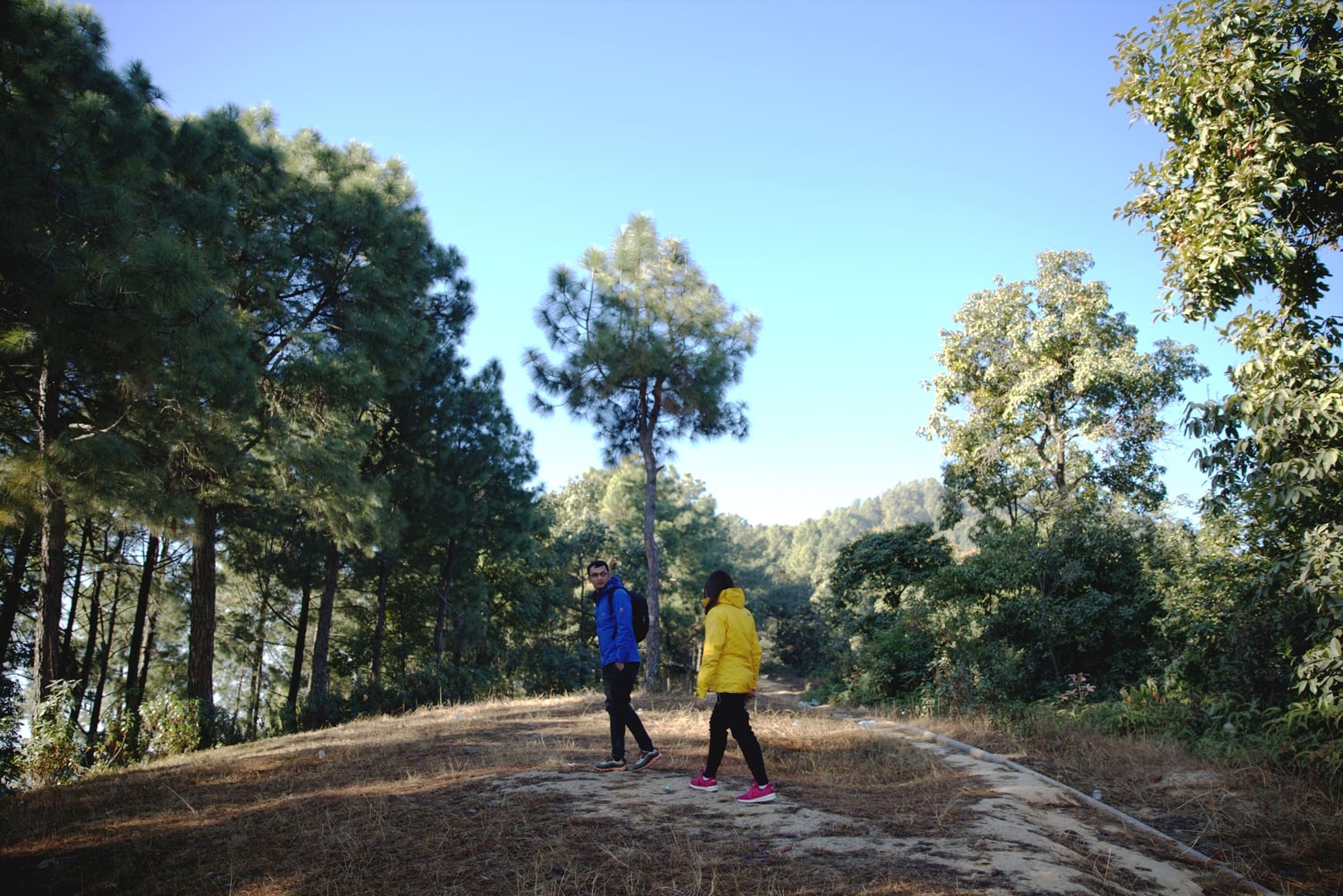 du lịch nepal: một góc đồi nagorkot