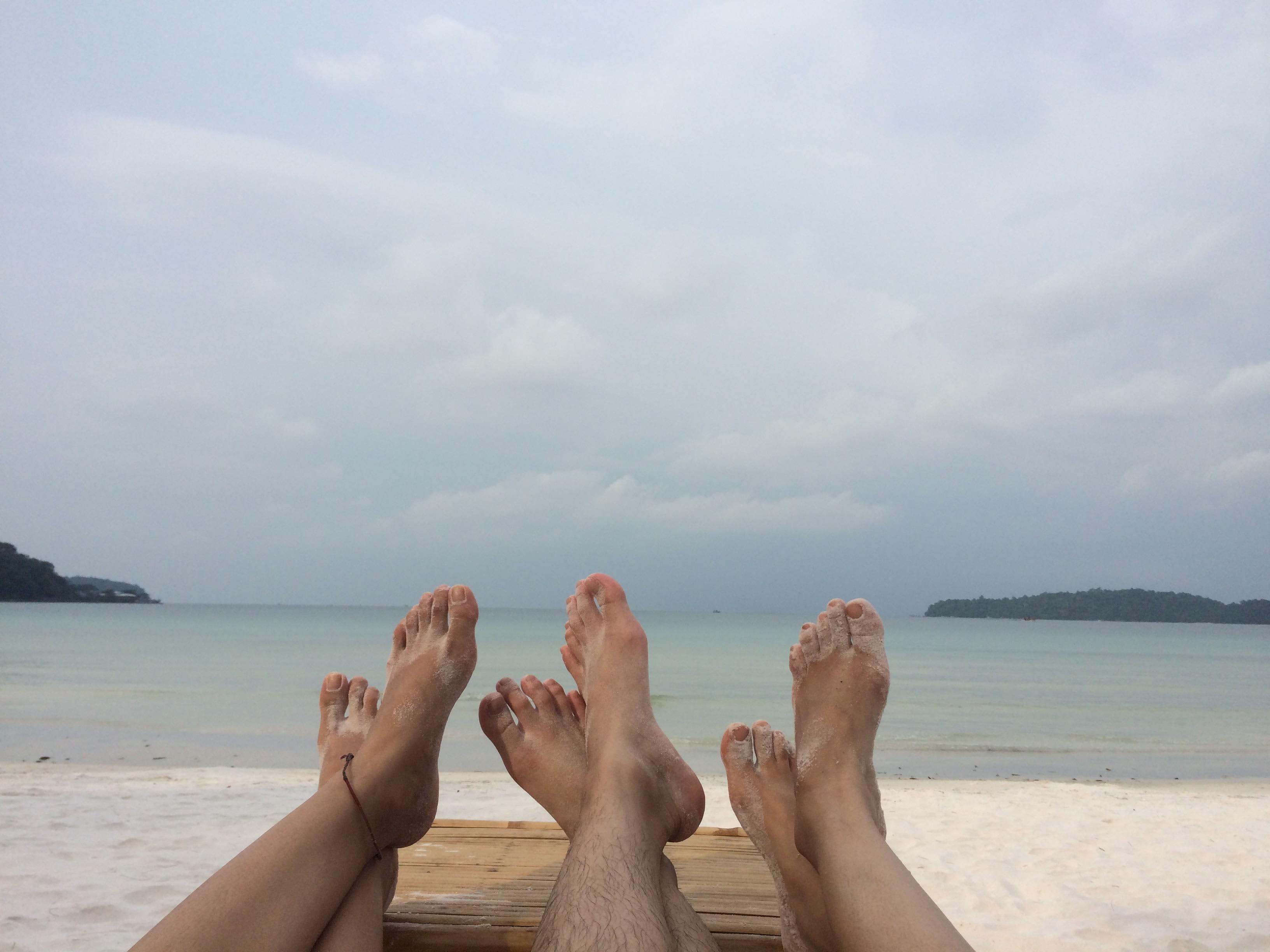 du lịch tự túc campuchia - biển ở đảo koh rong samloem