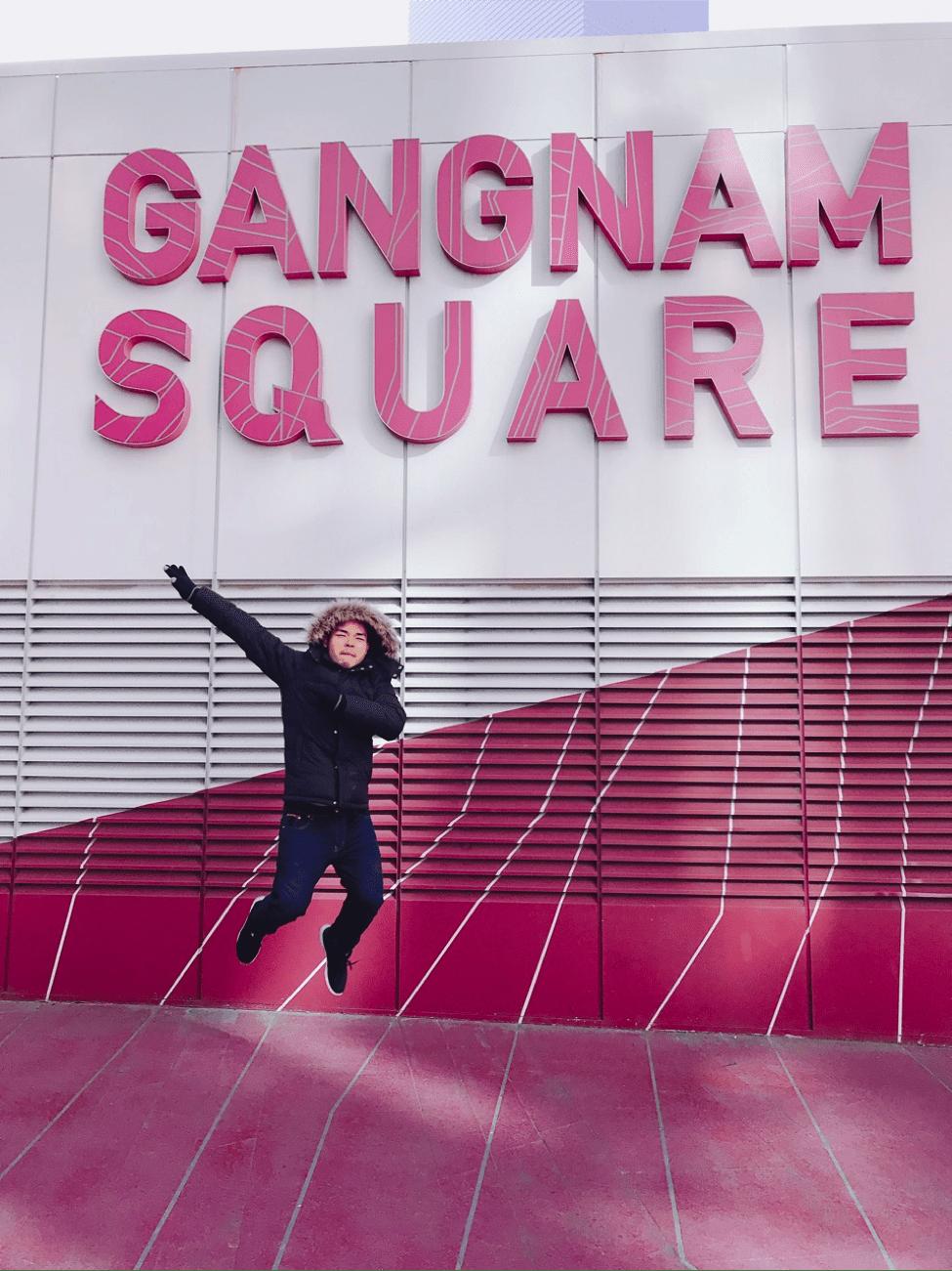 đến gangnam trong chuyến du lịch hàn quốc 6 ngày 5 đêm