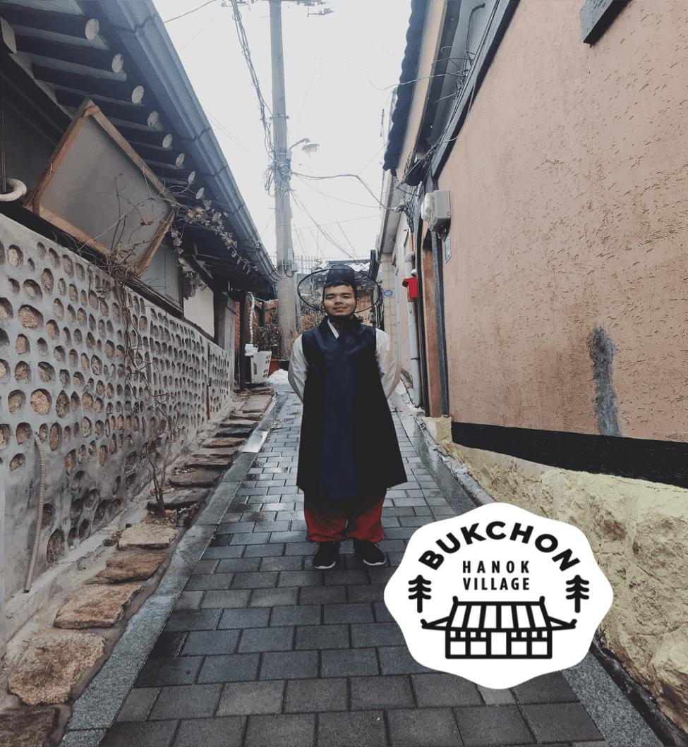thăm làng Bukchon trong chuyến du lịch hàn quốc 6 ngày 5 đêm
