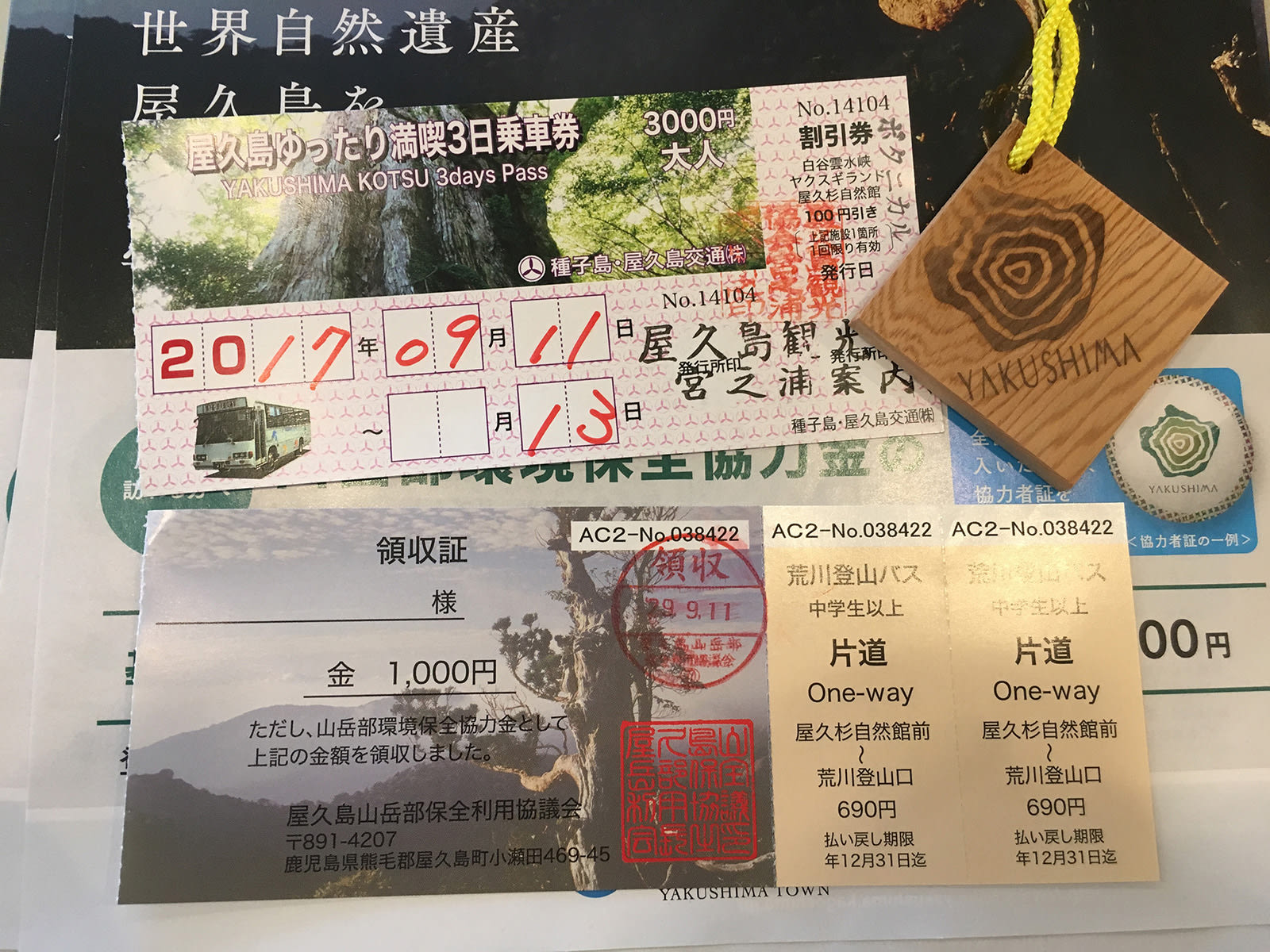 du lịch yakushima - vé xe buýt yakushima kotsu
