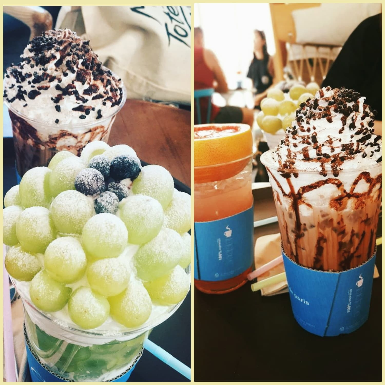 ăn gì ở seoul - chuỗi cafe de paris