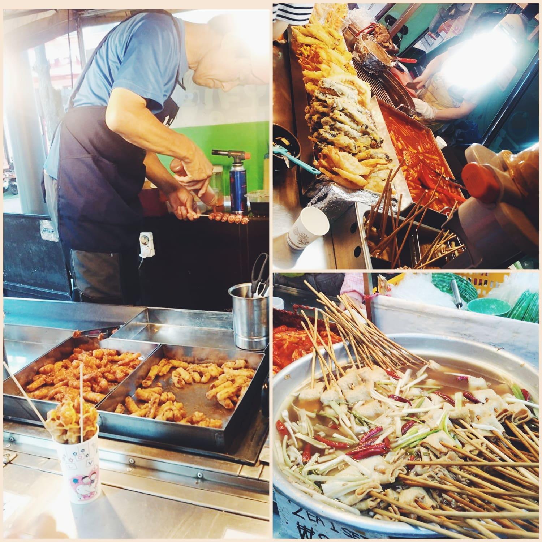 ăn gì ở seoul - ẩm thực đường phố quanh các trường đại học lớn