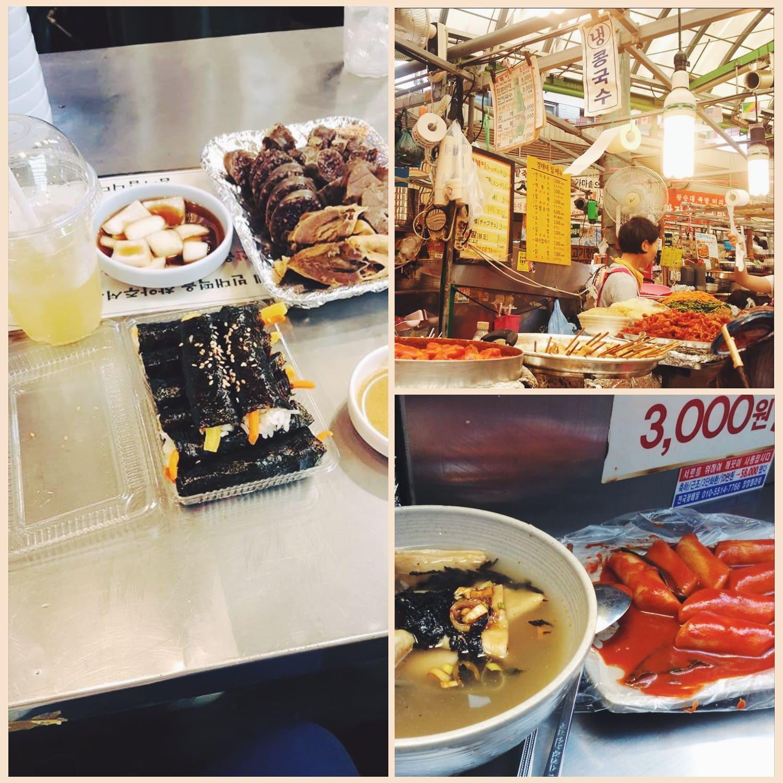 ăn gì ở seoul - ẩm thực truyền thống gwangjang