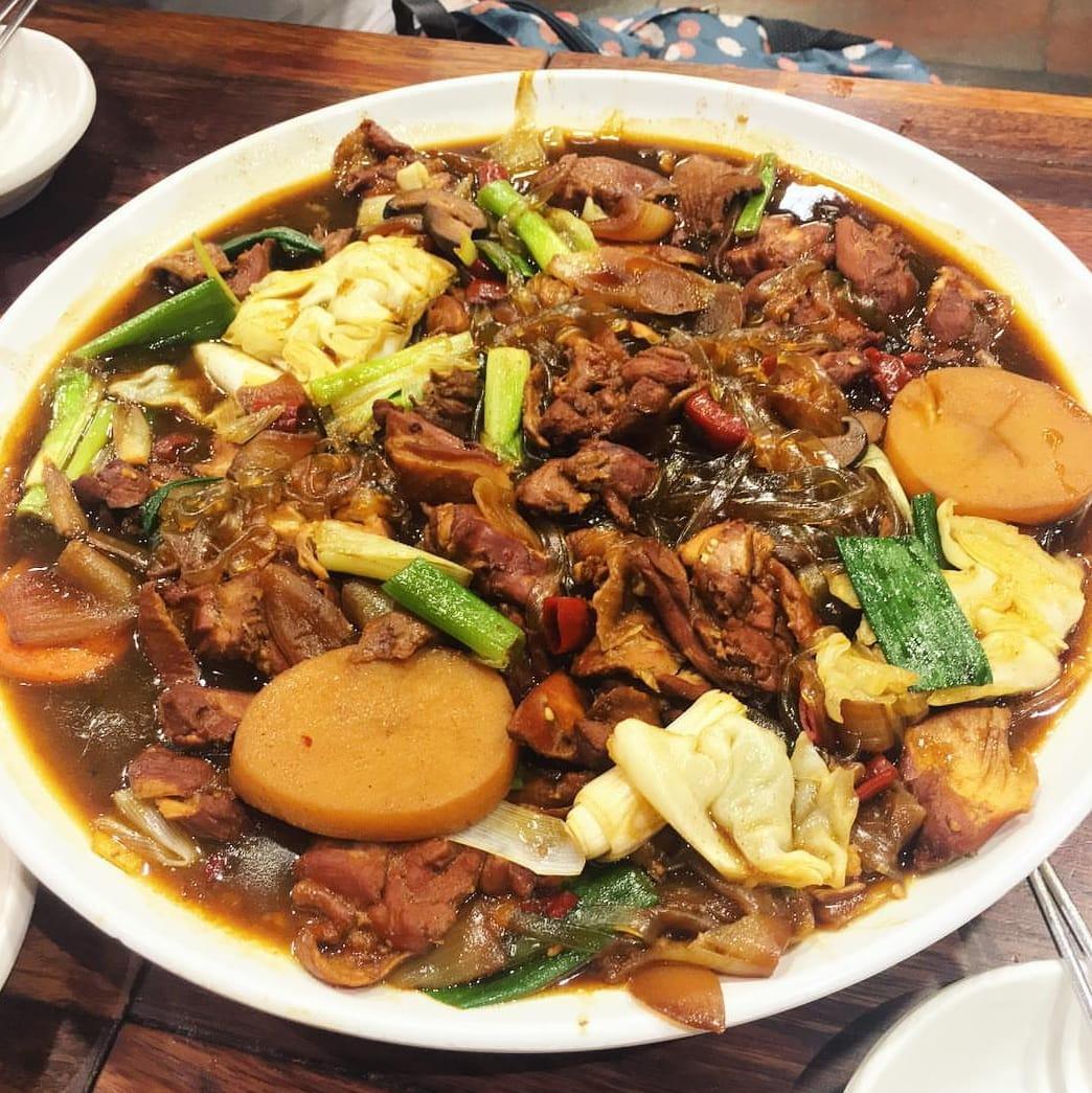 ăn gì ở seoul - nhà hàng andong jjimdak