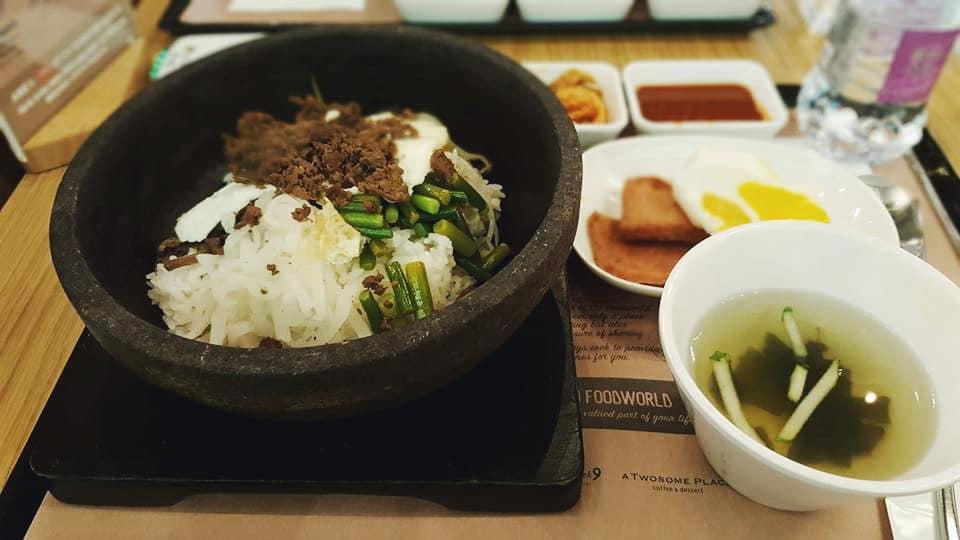 ăn gì ở seoul - chuỗi food court bibigo