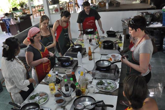 kinh nghiệm đi krabi là học lớp nấu ăn độc đáo