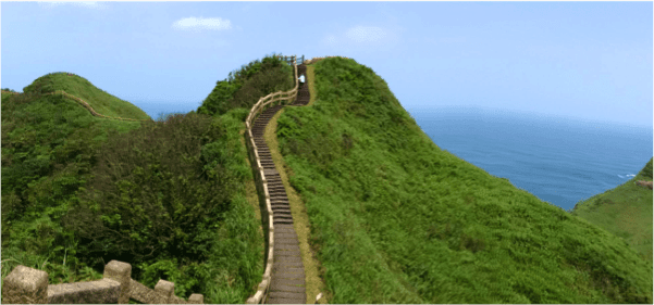 ngắm cảnh tại mũi Bitou trong chuyến du lịch đài bắc
