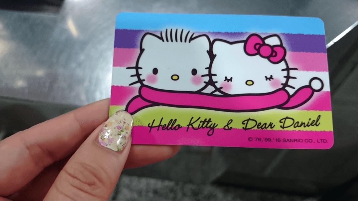thẻ easy card trong chuyến du lịch đài bắc