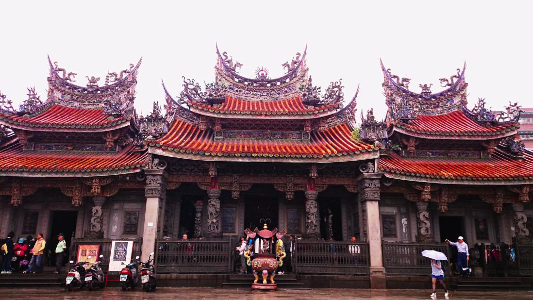 đền thanh thủy tổ sư là địa điểm không thể thiếu trong chuyến du lịch đài bắc