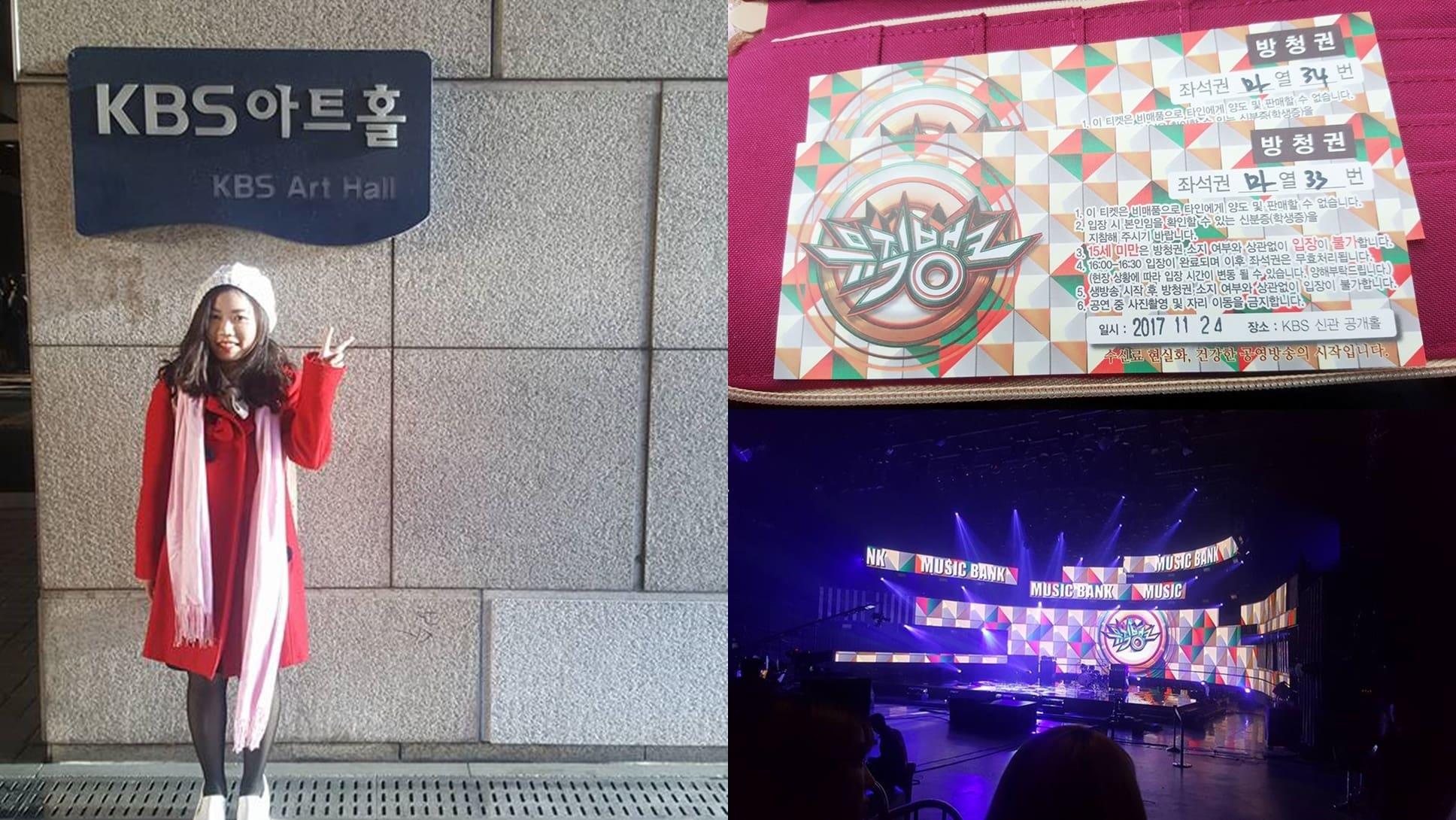 tham dự các buổi ghi hình của chương trình ca nhạc là một trải nghiệm đáng nhớ khi đi du lịch seoul