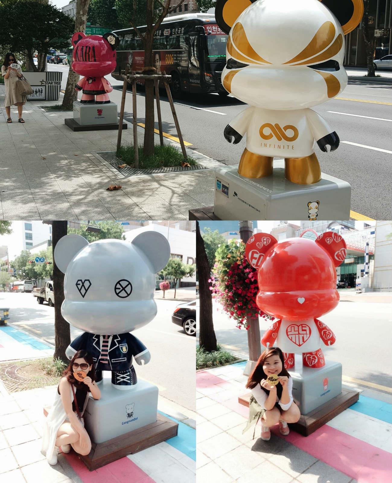 đến k-star road khi đi du lịch seoul