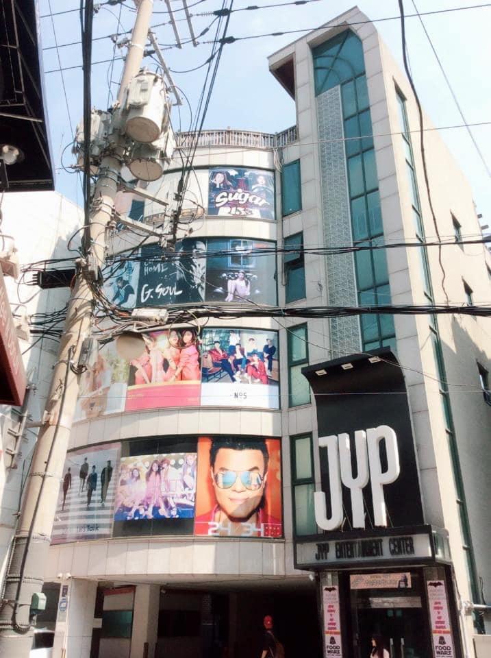 du lịch seoul là phải đến trụ sở JYP Entertainment