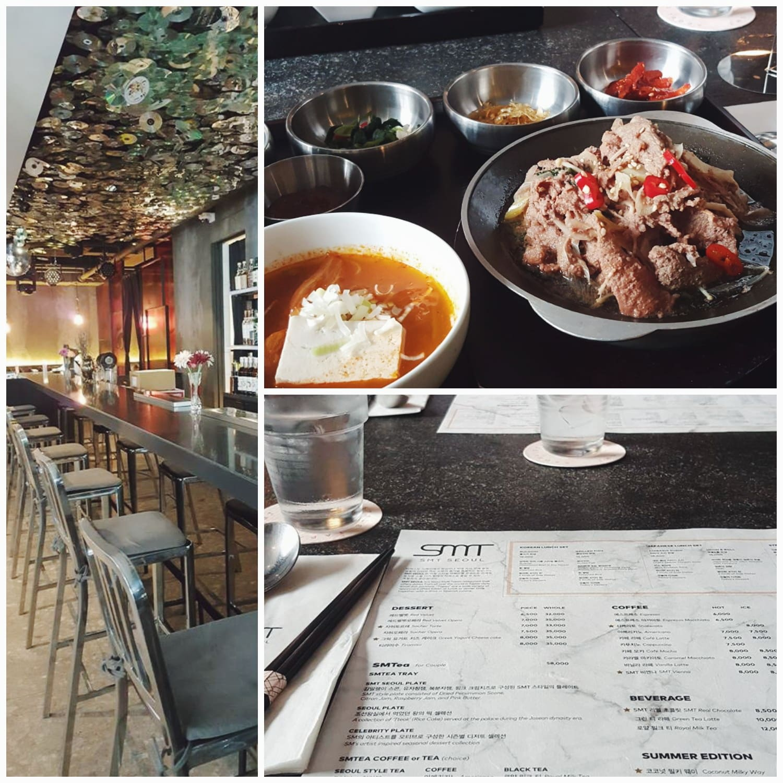 ăn trưa tại SMT Seoul khi du lịch seoul