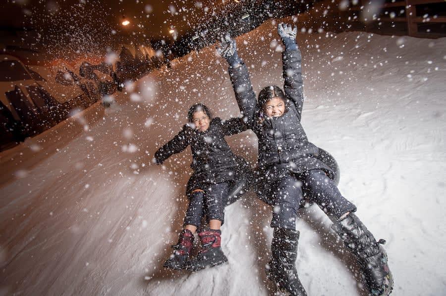 ghé snow city trong chuyến du lịch singapore 3 ngày 2 đêm