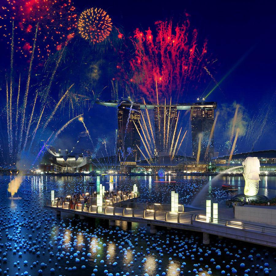 đến marine bay sands trong chuyến du lịch singapore 3 ngày 2 đêm