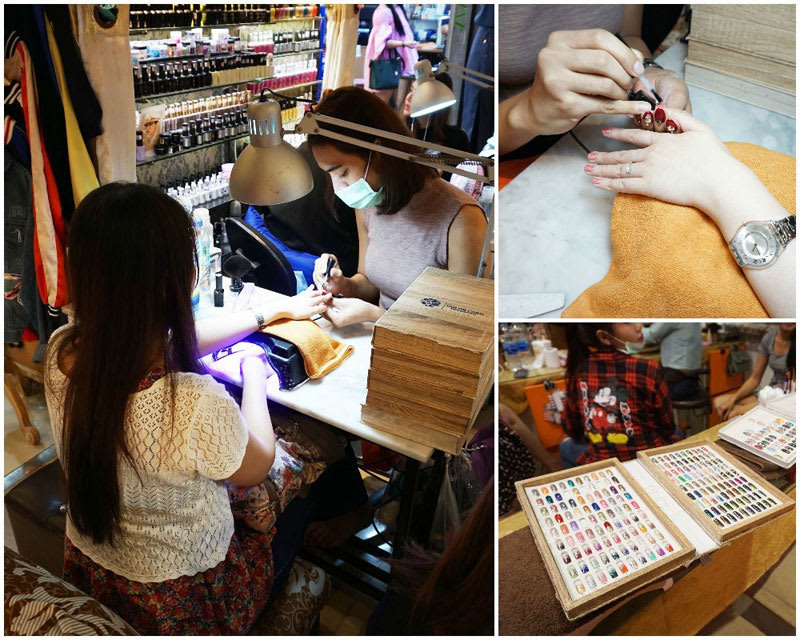 ghé chợ huai khwang night market trong lịch trình du lịch thái lan dịp tết