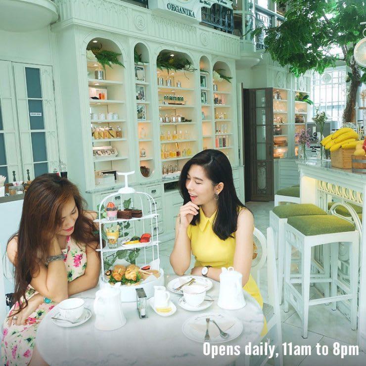 ghé organika cafe trong lịch trình du lịch thái lan dịp tết