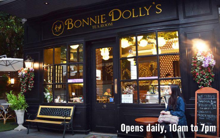 ghe bonnie dolly's tea room trong lịch trình du lịch thái lan dịp tết
