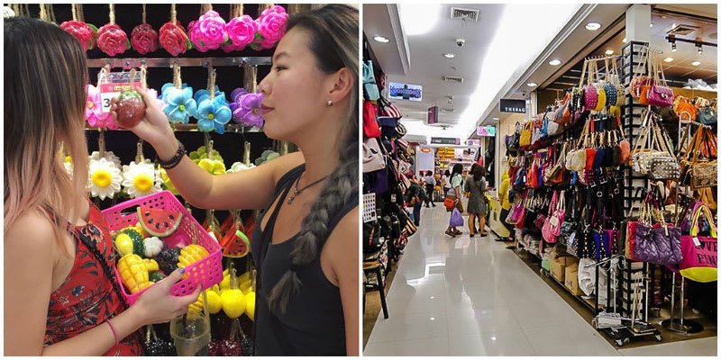 ghé platinum mall trong lịch trình du lịch thái lan dịp tết