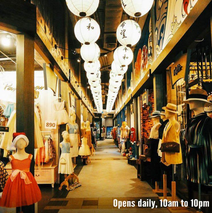 mua sắm tại terminal 21 trong lịch trình du lịch thái lan dịp tết
