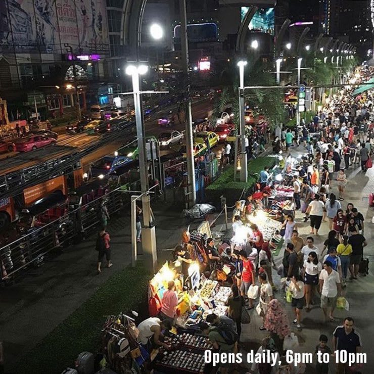 ghé chợ palladium night market trong lịch trình du lịch thái lan dịp tết