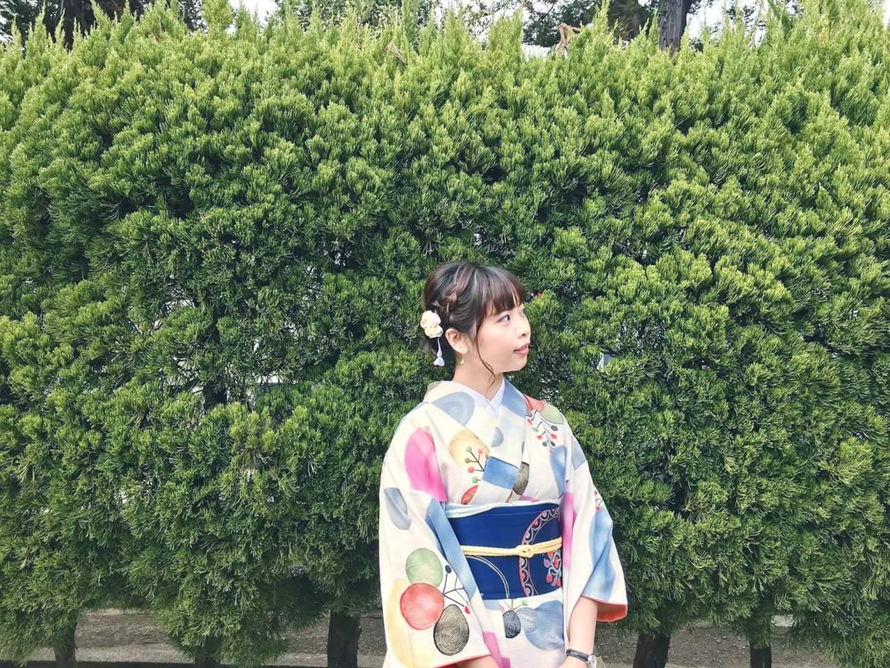 mặc kimono ở nhật bản