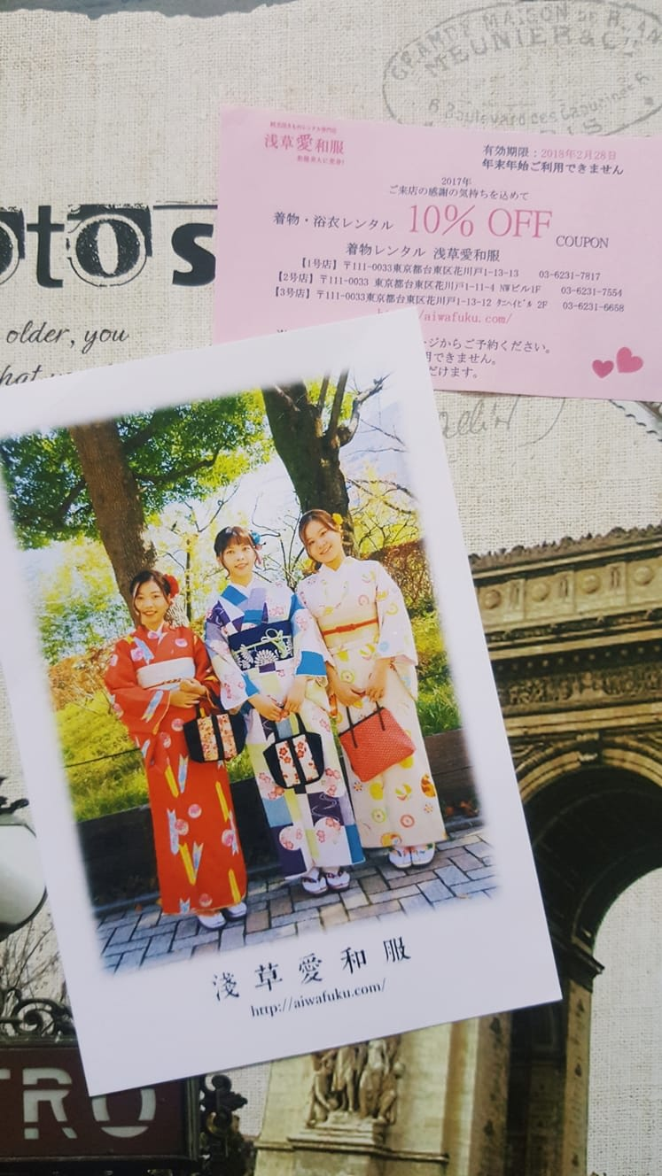 mặc kimono ở nhật bản: chụp hình với kimono