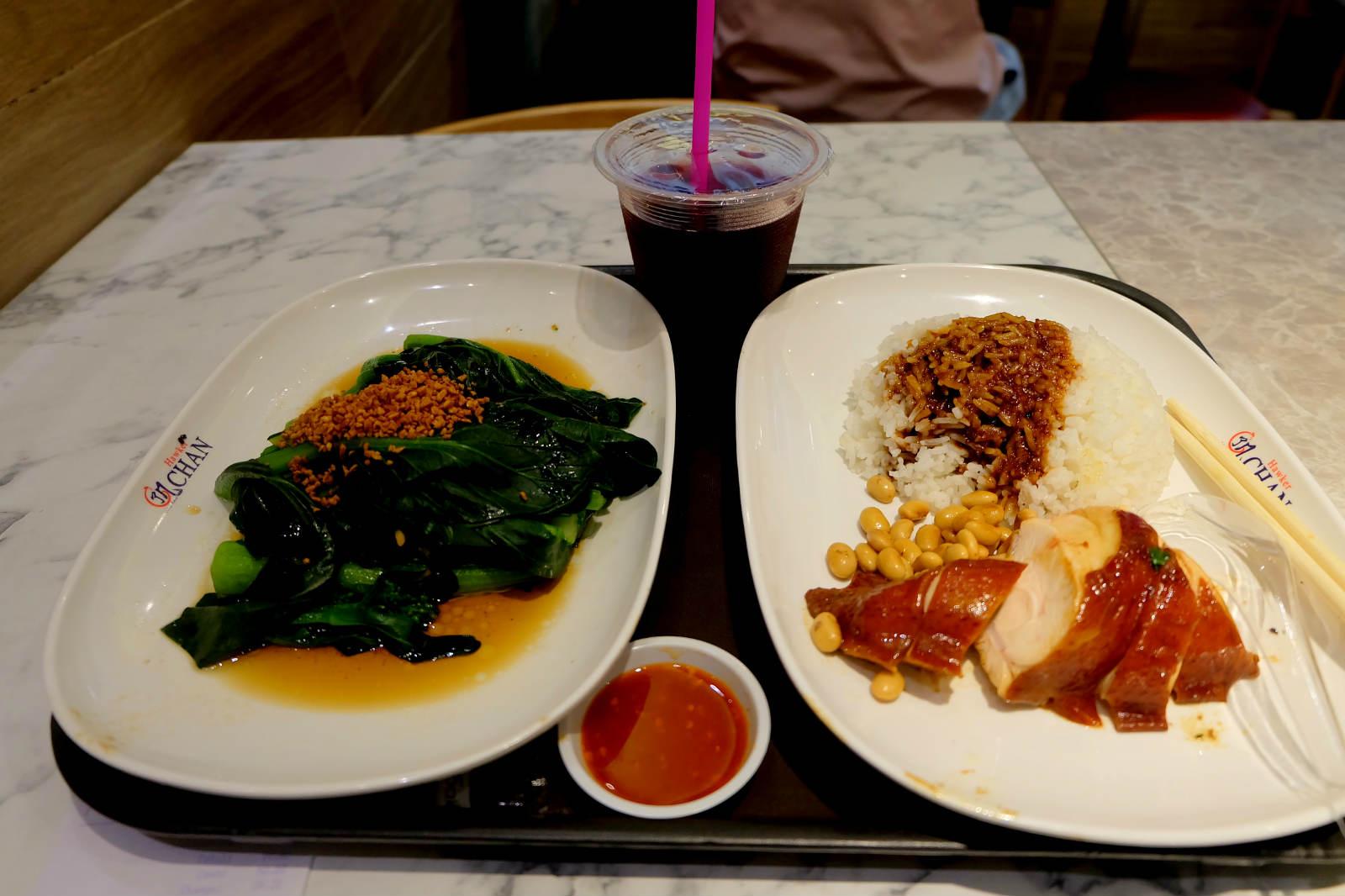 một mình ở singapore - cơm gà ở liao fan hongkong