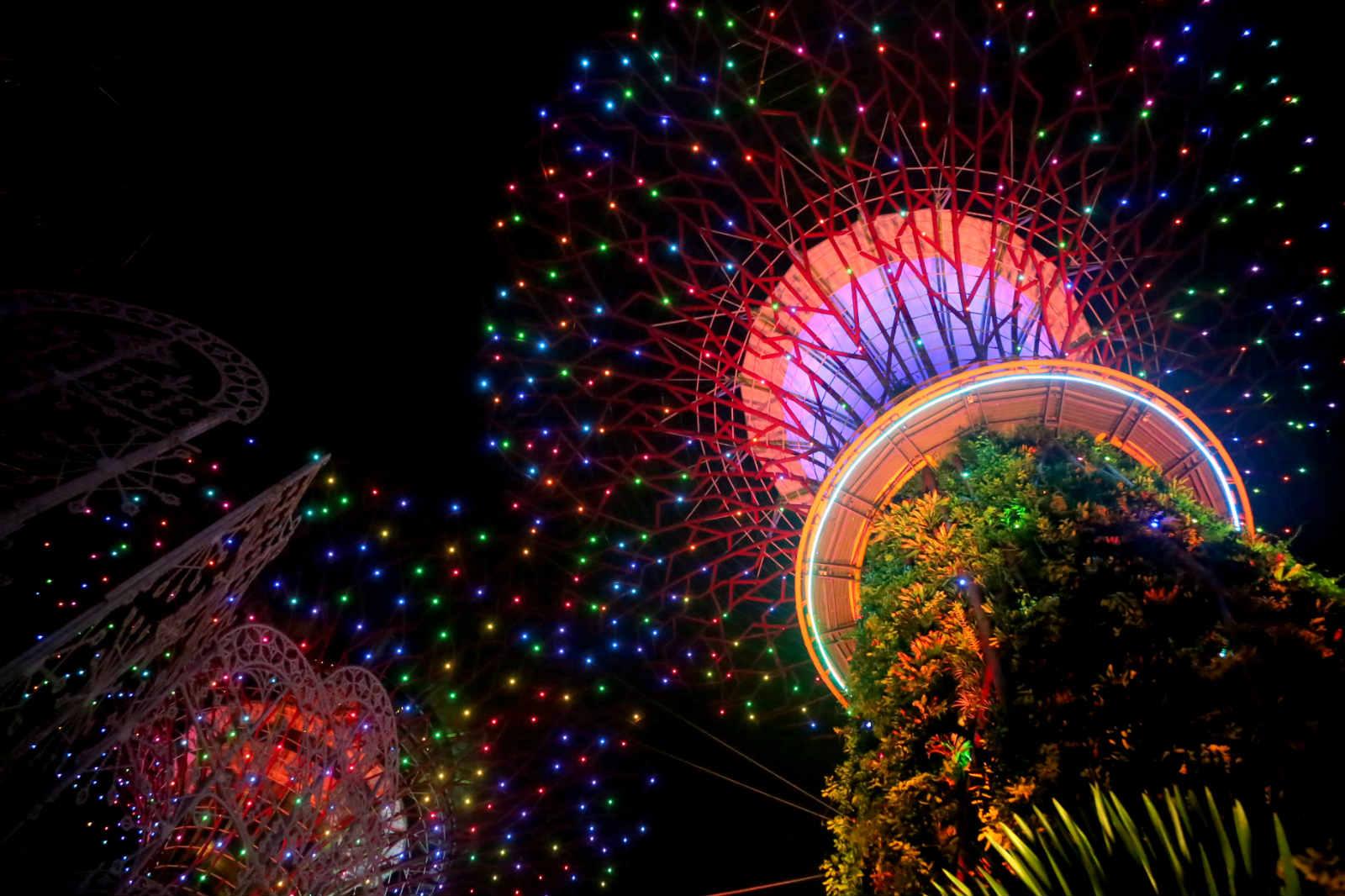 một mình ở singapore - xem garden rhapsody