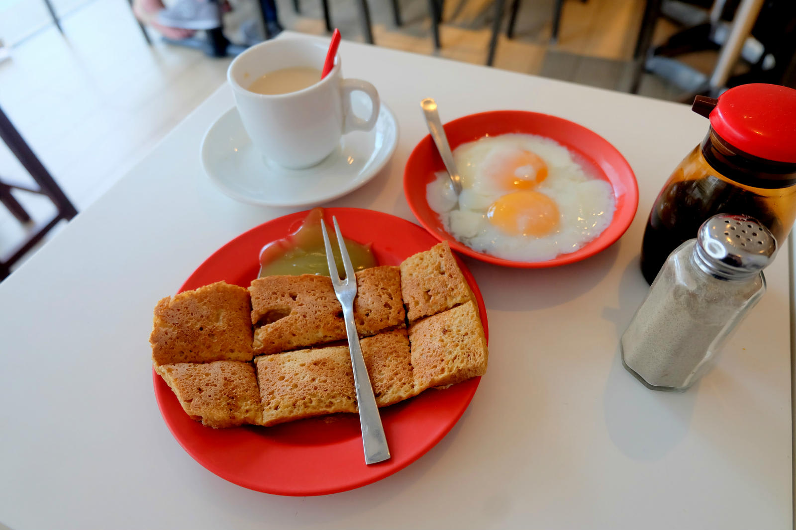 một mình ở singapore - ya kun kaya toast
