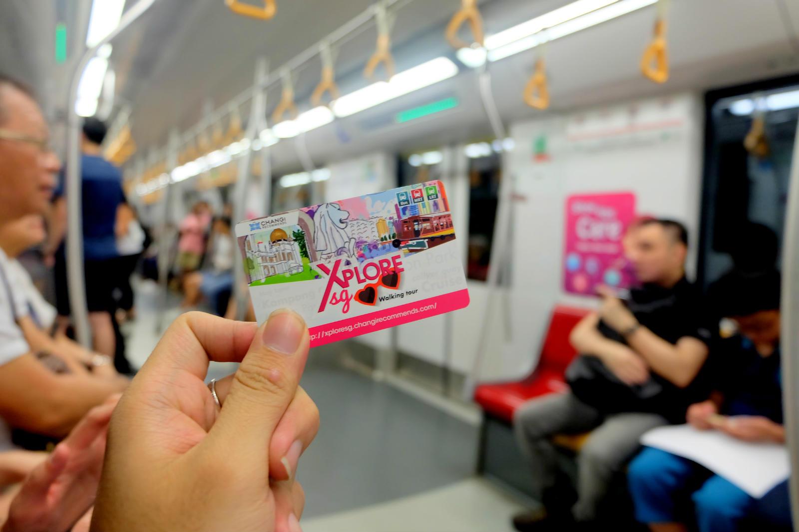 một mình ở singapore - thẻ ez-link