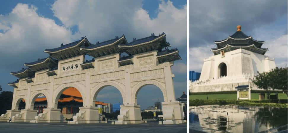 đài tưởng niệm tưởng giới thạch là địa điểm không thể thiếu trong chuyến đi 5 ngày ở đài loan