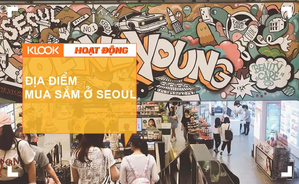 Mua sắm ở Seoul 1