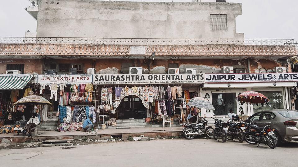 du lịch một mình ở ấn độ - phố jaipur