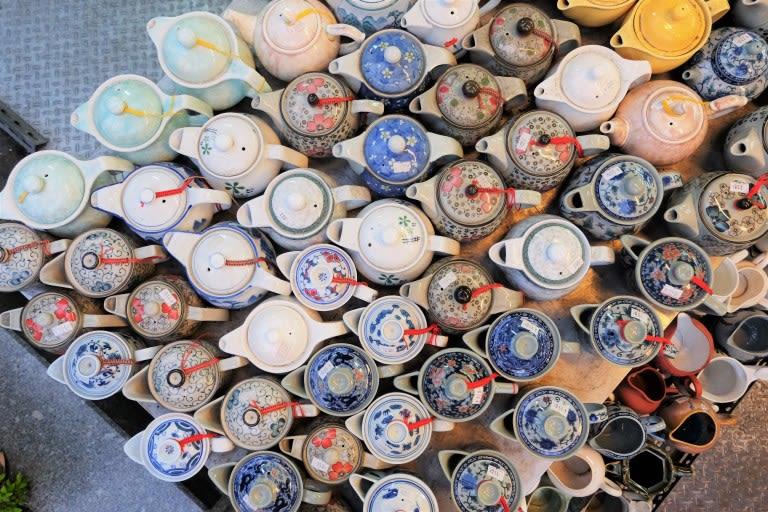 cửa hàng gốm sứ taopinji là nơi phải ghé trong phố cổ đài loan yingge