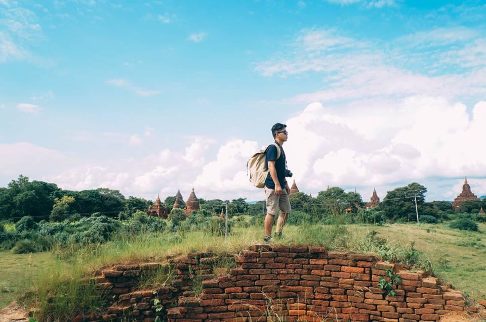 du lịch bagan - một góc đền anada